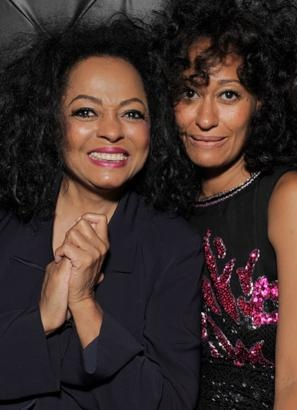 """Tracie Ellie Ross has her mother Diana Ross' big hair and personality. Ross has five children, and always found time for them despite her busy career.""""Mom wouldn't leave for longer than a week,"""" Tracie told ABC News' """"20/20."""" """"Mom recorded at night while we were sleeping and then would wake us up for breakfast in the morning."""" Of motherhood, Ross said, """"I've just been very blessed. I've been very blessed with these children."""" (Todd Williamson/WireImage)"""