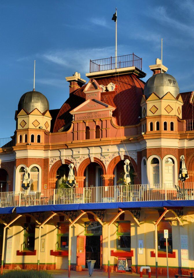 The Magnificent, York Hotel, in Kalgoorlie, Western Australia. v@e.
