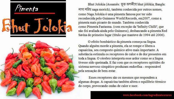 Cozinha Simples da Deia: Conheça a Pimenta Bhut Jolokia
