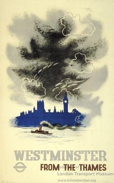 Westminster ~ Edward McKnight Kauffer