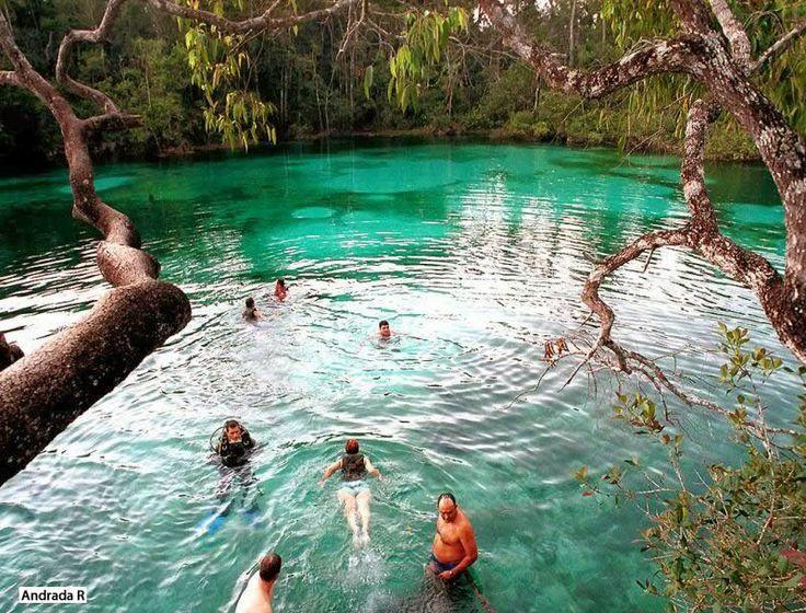 pontos turisticos de mato grosso: Lagoa Azul - Ponto Turístico de Primavera do Leste...