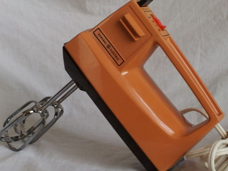 Pin by diane seren on sunny orange pinterest for Antique general electric mixer