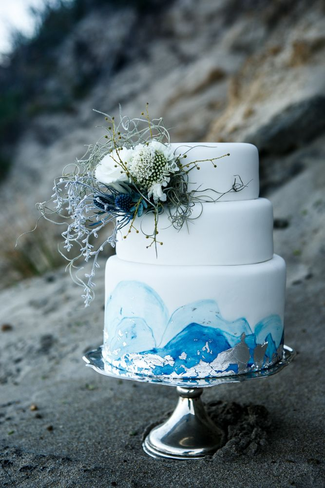 Beautiful Hand Painted Wedding Cakes - Polka Dot Bride