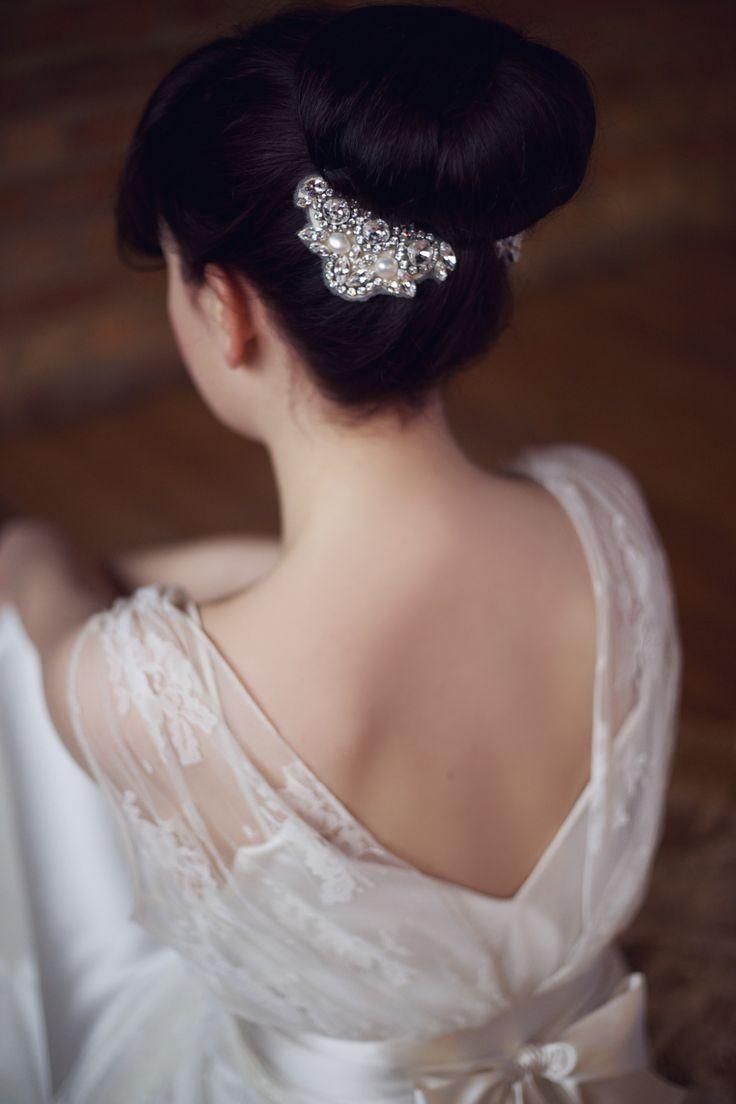 71 best wedding hair pieces images on pinterest | wedding hair