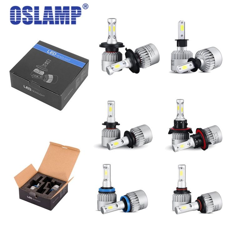 31.50$  Know more - http://ai7o6.worlditems.win/all/product.php?id=32802467409 - Auxbeam Led Light for Car 72W 8000lm Car LED Headlight H4/H13 COB Chip Bulbs 6500K H7/H1/H11/H3 LED Auto Headlamp Headlight Kit