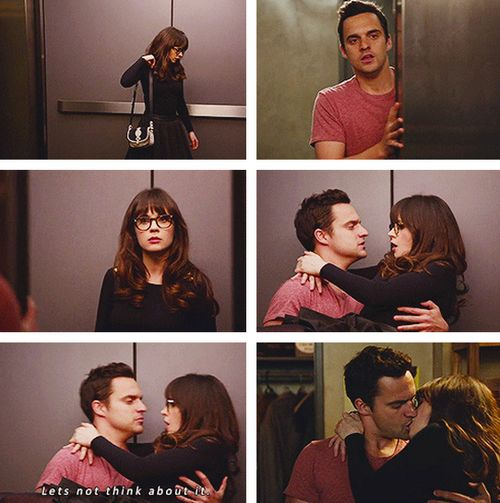 Sqeee so glad they finally got together. #newgirl