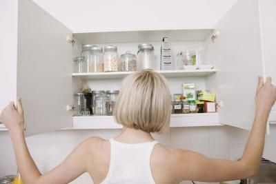 How to Fix a Peeling Laminate Cabinet Door | Melamine ...