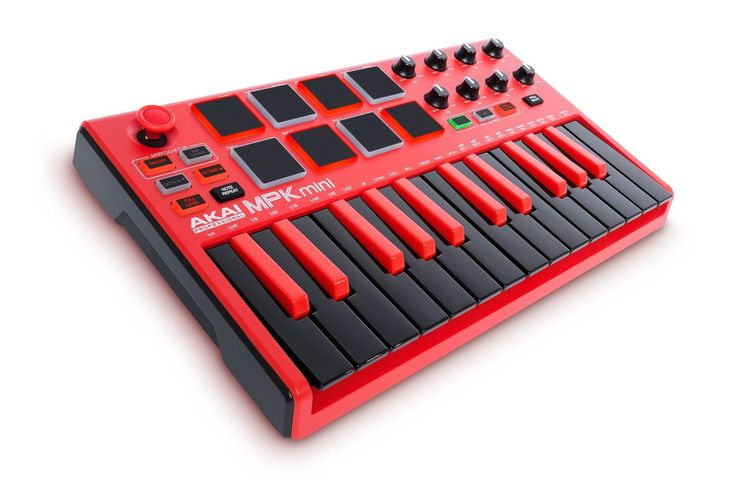 Amazon.com: Akai Professional RED MPK MINI MKII: Musical Instruments