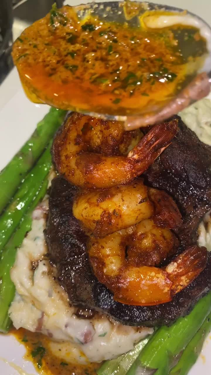 Tc Themoodyfoody On Tiktok Quick Surf And Turf Foryoupage Fyp Forypu Food Recipies Food Good Food