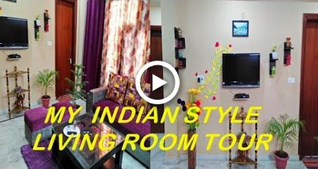 living room tour | indian living room decoration | hall decoration | apartment in indian