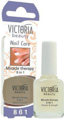 Victoria Beauty Thérapie Miracle 8 en 1: Tweet Formule unique avec un large éventail d'actions. Il garantit des ongles plus longs, plus…