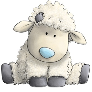 Cottonsocks... the cuddly Sheep who loves to snuggle up with you.