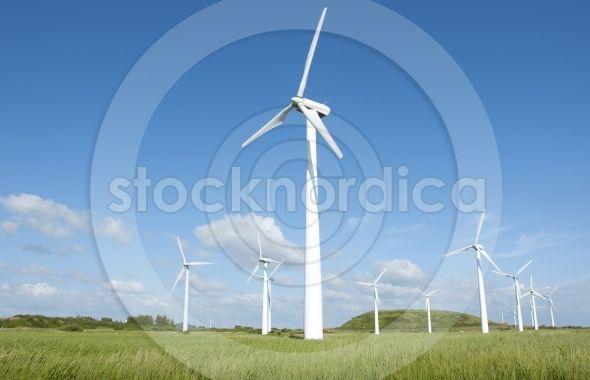 Wind Turbines alternative clean energy http://www.stocknordica.com/image/wind-turbines-alternative-clean-energy/