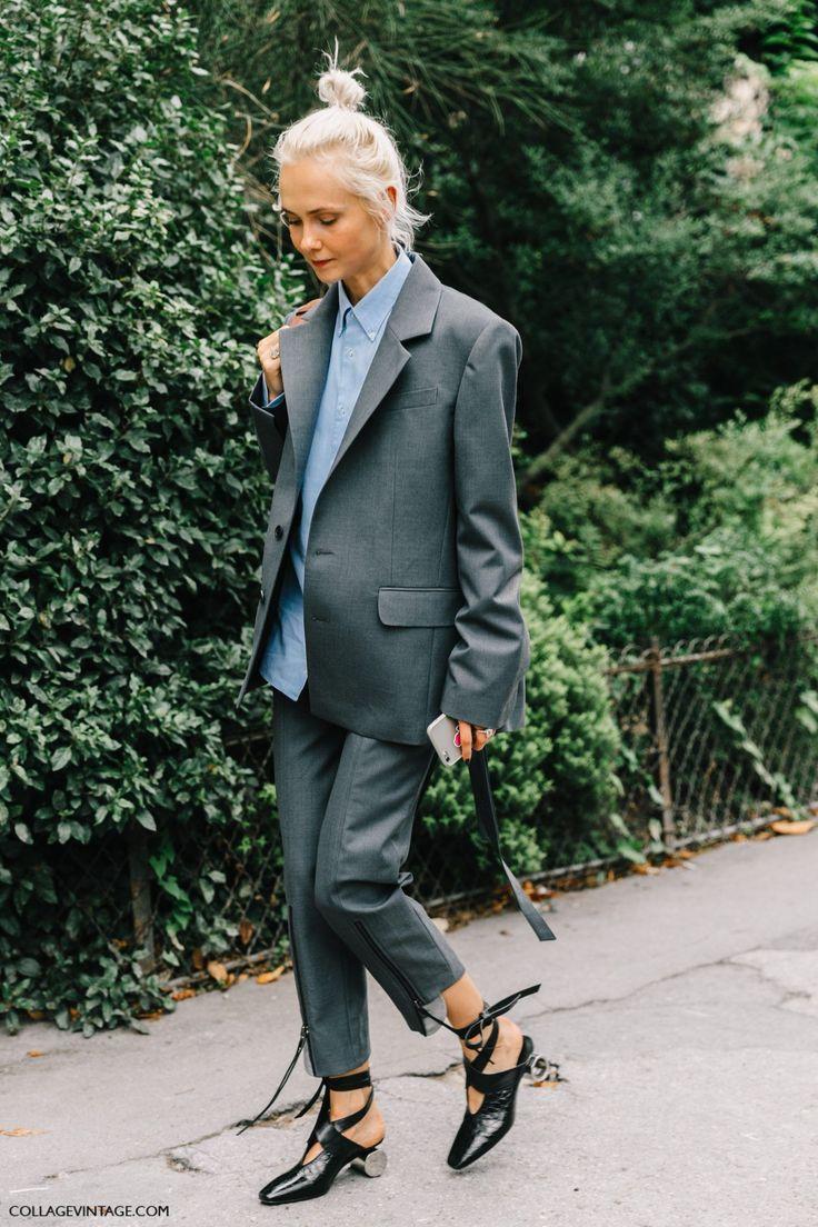 El traje de chaqueta nunca, jamás, pasará de moda. Solo hay q actualizarlo correctamente. Imprescindible.