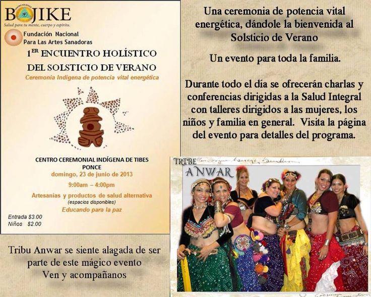 1er Encuentro Holístico del Solticio de Verano @ Centro Ceremonial Indígena de Tibes, Ponce #sondeaquipr #ponce #centroceremonialindigena #solticiodeverano #tibes