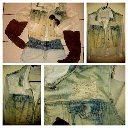 chaqueta  vintage <#