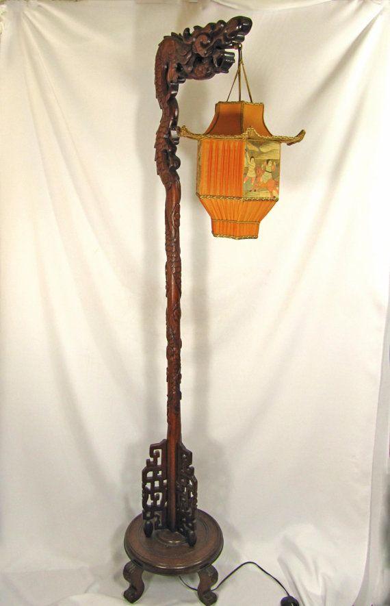 Antique Wooden Lanterns