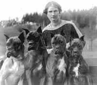 Frau Stockmann um 1912