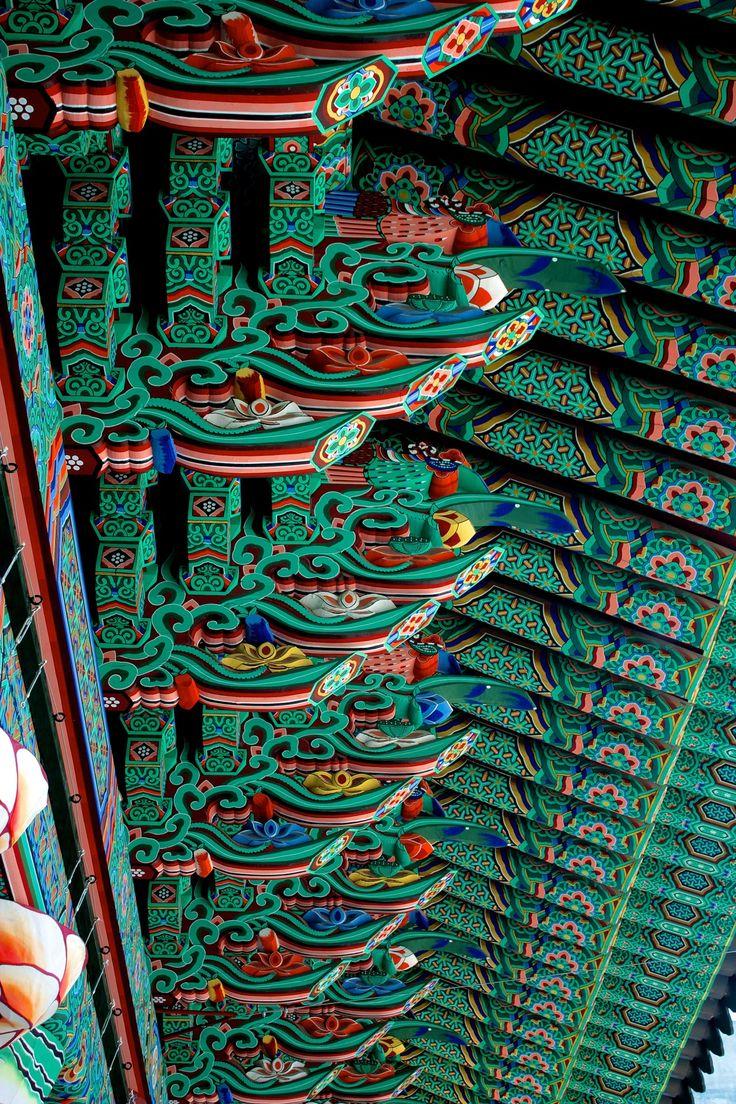 At Jogyesa temple, Korea