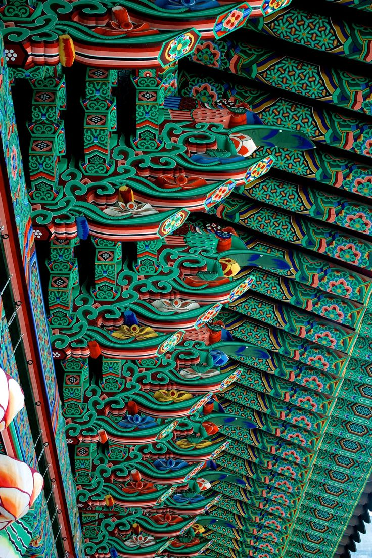 At Jogyesa temple, Korea
