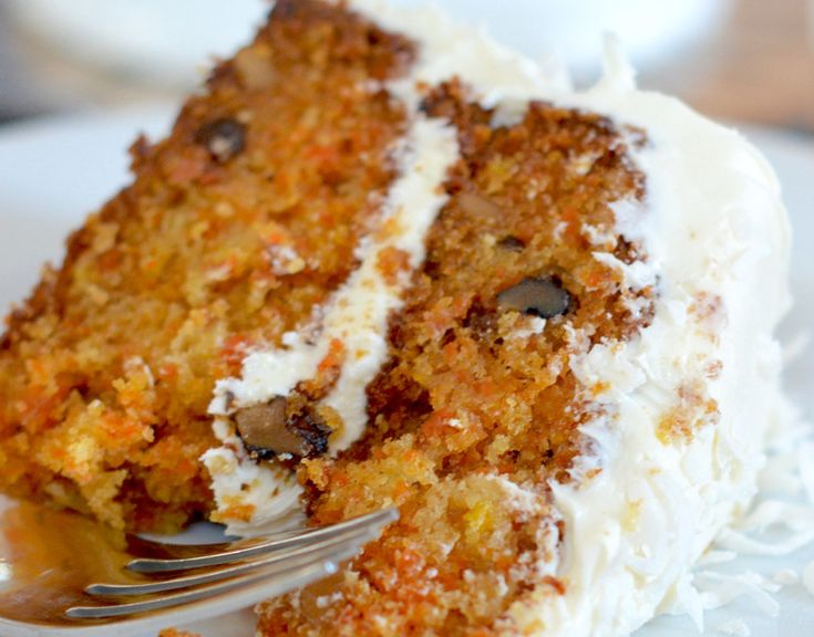 Gluten-Free Carrot Cake with Cream Cheese Frosting - The Best Carrot Cake Recipe in the Whole Wide World