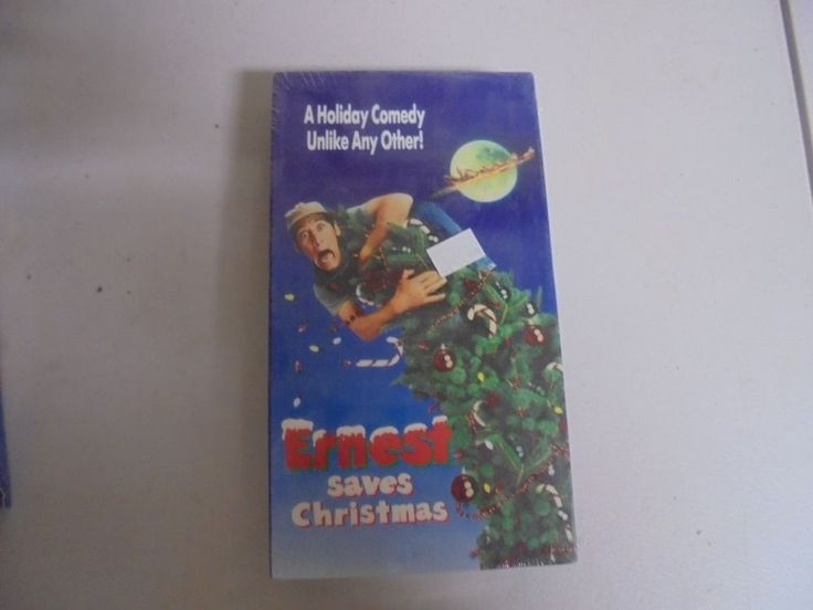 "NEW  VHS Movie ""Earnest Saves Christmas"""