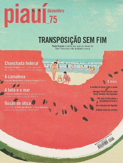 piaui December issue by Tatsuro Kiuchi