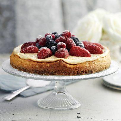 Baked Vanilla Cheesecake: Recipe