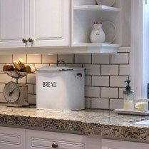 42 Lies You've Been Told About White Subway Tile Backsplash Kitchen Grout Colors Open Shelving 95