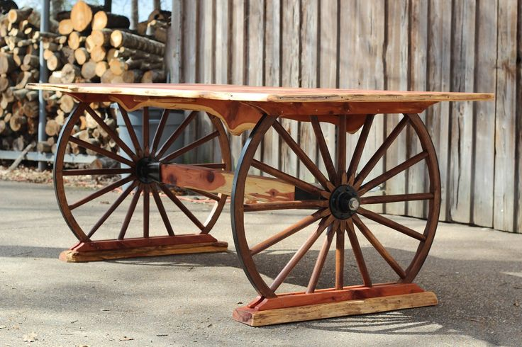 3383 best images about diy everything on pinterest funky for Diy wagon wheel