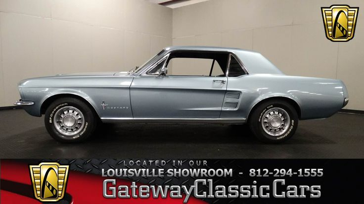 1967 Ford Mustang Coupe » Classic Mustangs For Sale at Mustang Trader Online…