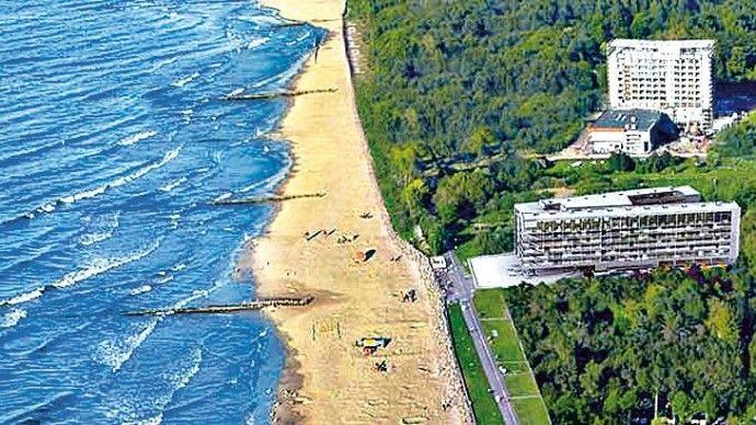 Hotel Marine #Pologne - Mer Baltique - Colberg https://www.spadreams.fr/pas-cher/pologne/mer-baltique/colberg/hotel-marine/