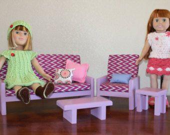 18 Meubles de poupée American Girl taille par MadiGraceDesigns