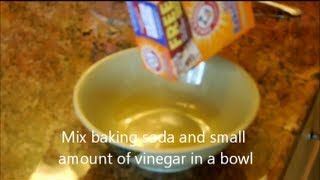 Best Home Treatment For Poison Ivy Oak - cure itchy skin rash symptons - Baking Soda & ACV