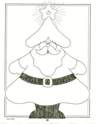 2466 best Noël images on Pinterest Cards, Appliques and Carnivals - new christmas tree xmas coloring pages