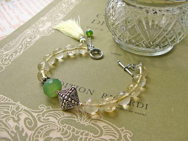 Fine van Brooklin, Mimosa bracelet http://finevanbrooklin.com/