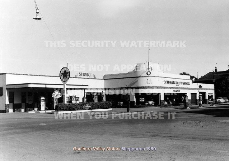Goulburn Valley Motors Holden Shepparton 1950 A3 Picture Image Poster Print | eBay