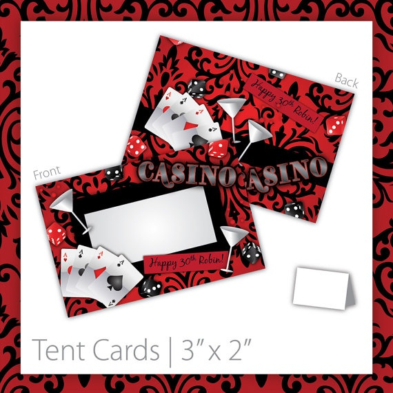 """Casino Party Tent Cards : Blank . PRINTABLE . INSTANT DOWNLOAD . Casino Blush ~ Size 3""""w x 2""""h ~ casino tent cards, printable casino tent cards, printable tent cards, casino tent sign, casino party sign, casino party signage, casino theme, woman casino, casino food labels, casino food signs, las vegas casino, las vegas theme party, casino theme, las vegas tent cards, casino name sign, casino name tent cards, las vegas casino tent cards ~ https://www.etsy.com/listing/130025108"""