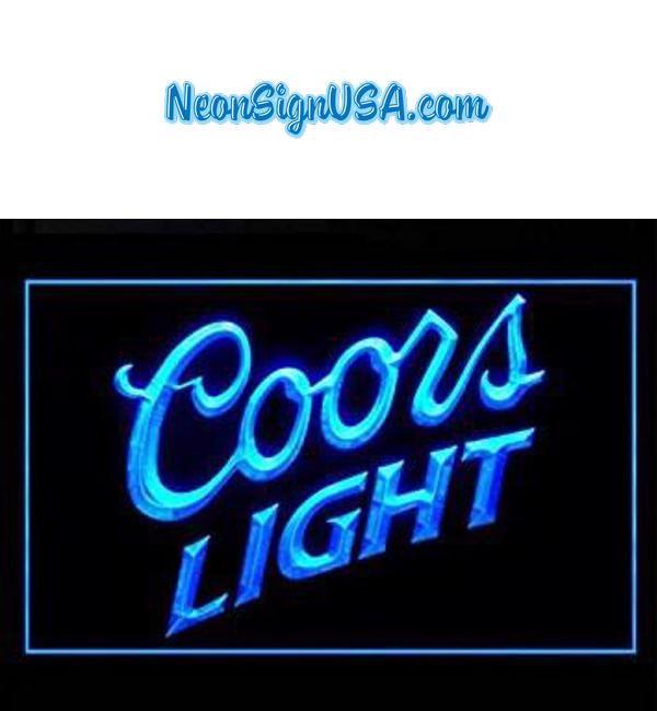 Coors Light Bar Pub Led Light Sign | Coors light, Beer bar