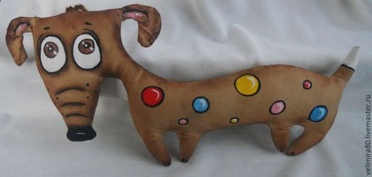 Toy animals, handmade.  Fair Masters - handmade.  Buy Coffee fee .. Handmade.  Brown, gift, toy attic