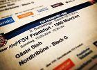 #Ticket  2 x Stehplatz Gäste / FSV FRANKFURT  TSV 1860 MÜNCHEN am 15.05.2016  Block G #deutschland
