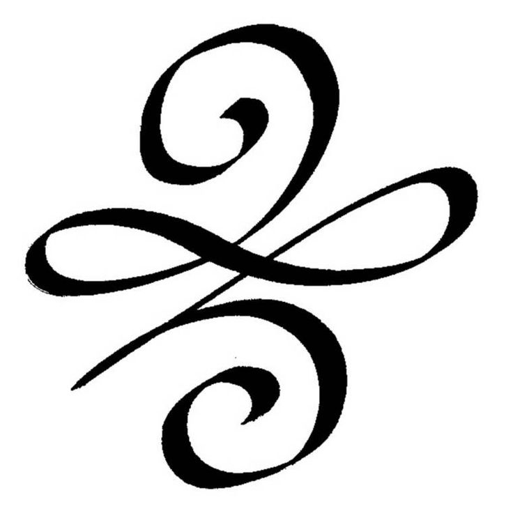 "The Celtic ""New Beginnings"" symbol. This would be a great tattoo to get!"
