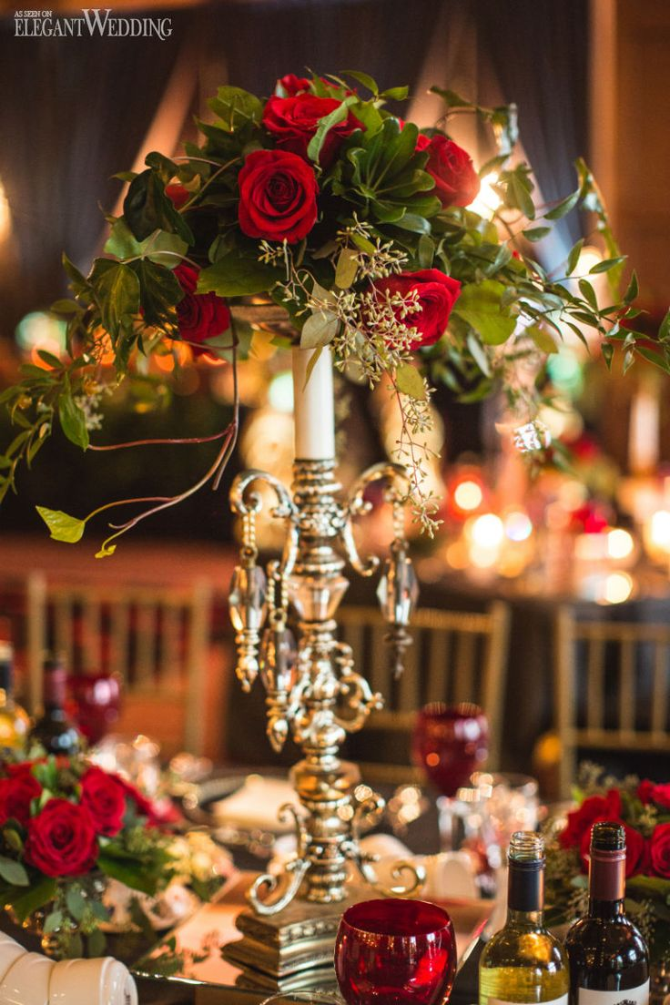 Best 25 red rose wedding ideas on pinterest red wedding for Elegant christmas decorations for sale