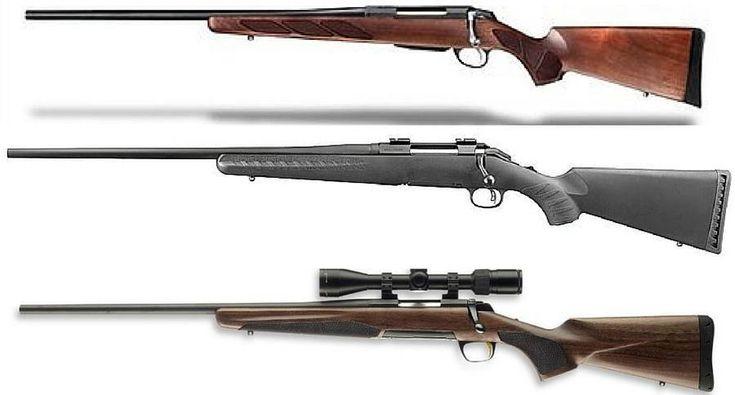 6 superior left-handed rifles for deer season.