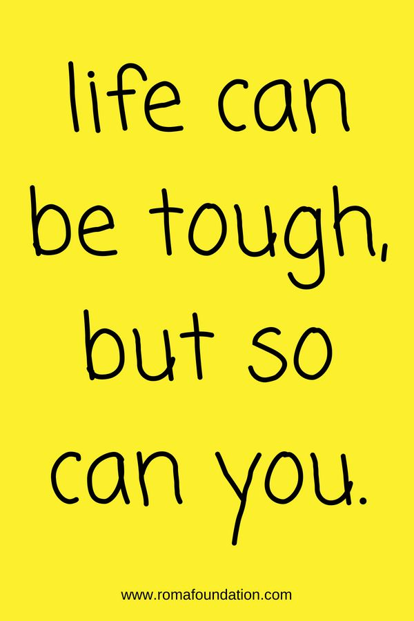 Life Can Be Tough But So Can You Quote Inspirational Quotes Tough Day Words