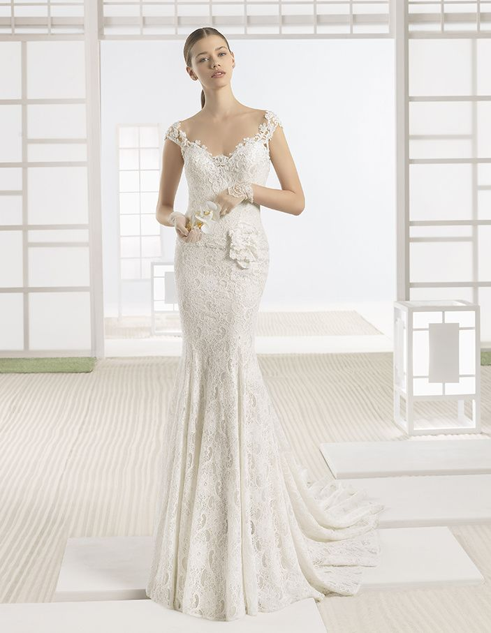 Robe de Mariée WAZIR de la marque SOFT BY ROSA CLARÁ disponible à Nice à la boutique NICEA MARIAGE