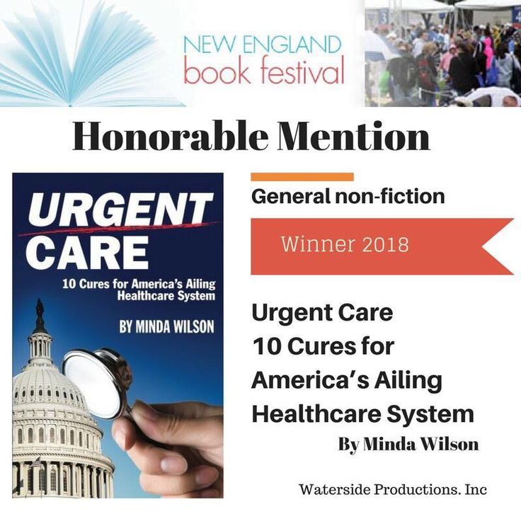 Hey, take a look at this... I got an honorable mention in #NewEnglandBookFestival + Follow me #mindawilson author of #urgentcare