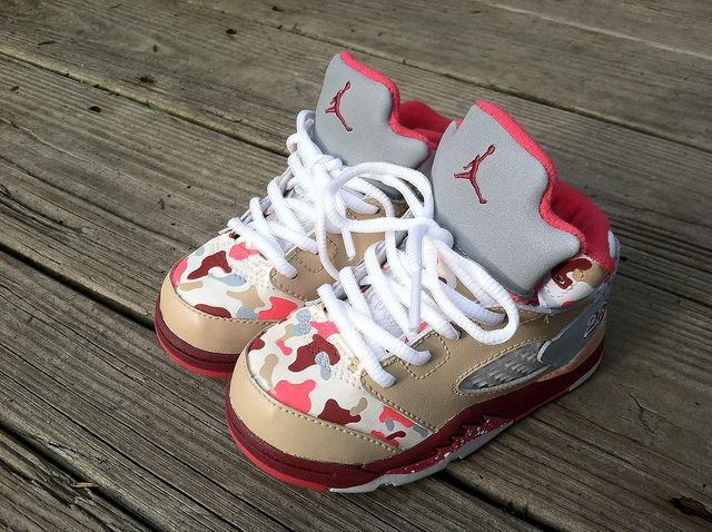 baby girl jordans | Baby Girl Camo Jordans | Flickr - Photo Sharing!