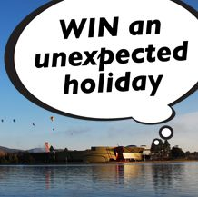 Wotif you could WIN a trip to the unexpected? Enter now to WIN a Couples Retreat or Family Getaway to our nation's capital #travel #Canberra #Wotif