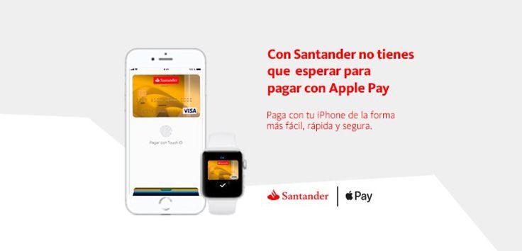 El Banco Santander activa Apple Pay para sus tarjetas VISA - https://www.actualidadiphone.com/banco-santander-activa-apple-pay-tarjetas-visa/